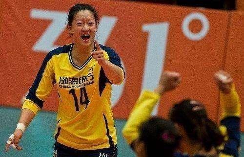 中国女排的55开 一直以来都是天津女排的大支柱