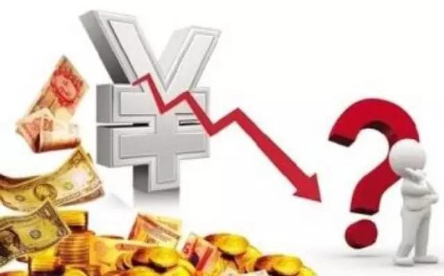 人民币贬值给市场带来巨大压力