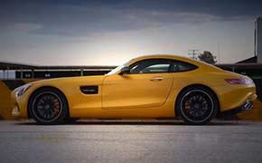 2016款奔驰AMG GT S试驾