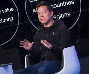 贾跃亭接受CNBC全球直播采访