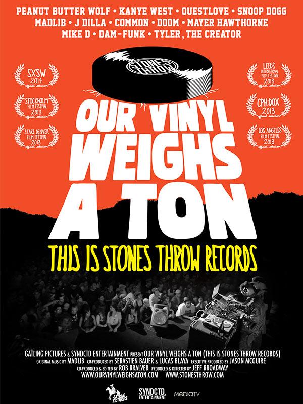 美国传奇嘻哈厂牌Stones Throw 纪录电影