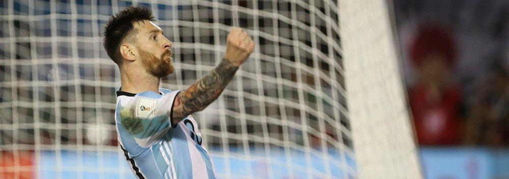 世预赛-梅西点射阿根廷1-0智利
