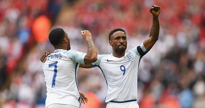 世预赛-英格兰2-0立陶宛-迪福破门瓦尔迪建功