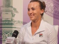 乐视网球专访舍夫多娃 对阵大威很高兴黄金蛋成温网历史