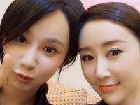 杨紫舒畅同剧组拍戏