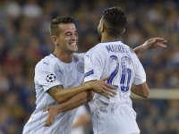 欧冠-马赫雷斯双响瓦尔迪造点  莱斯特3-0布鲁日
