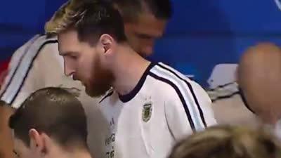 【中文片段】梅西:媒体不尊重我们 阿根廷球员拒绝采访