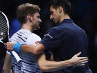 ATP年终总决赛小组赛 德约科维奇vs戈芬(中文) 20161117