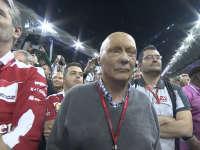 F1阿布扎比站正赛赛后颁奖仪式