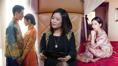 刘诗诗杨颖的嫁衣是她做的? 私人订制到底是什么?