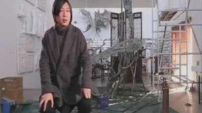 当代青年雕塑家郑路