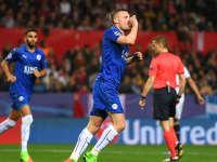 欧冠-瓦尔迪破荒科雷亚失点又破门 塞维利亚2-1莱斯特