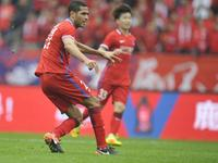 中超-华夏幸福1-1力帆 车世伟U23首球卡尔德克扳平