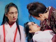 《王牌对王牌》20170317:朱茵再扮紫霞仙子与薛之谦热吻 王祖蓝灭绝师太造型吓坏众人