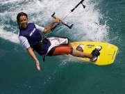 你玩过风筝冲浪吗 格林兰岛上驰骋的荷尔蒙