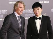 《变形金刚5》首映礼张杰献唱 导演称最后一次执导感不舍