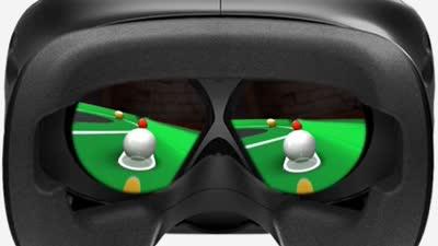 三端游戏尽享奇幻 智能台球杆添VR新玩法