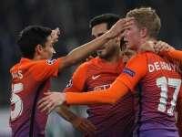 欧冠-席尔瓦破门两将染红 曼城1-1门兴提前晋级