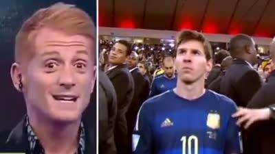 阿媒:梅西罚任意球都穿不过人墙 有他只会做梦【中字】