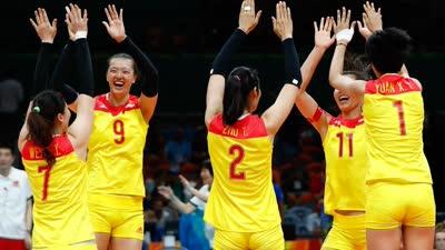 中国女排里约奥运顽强夺金 时隔12年重回世界之巅