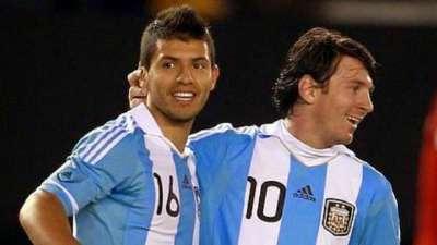 经典-梅西阿圭罗联手献逆转 阿根廷2-1哥伦比亚