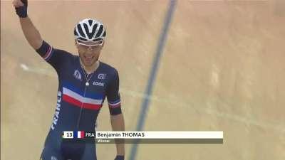 男子全能赛金牌角逐 托马斯二分微弱优势夺冠
