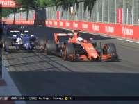 F1阿塞拜疆站本田引擎终于给力 头哥赛道超越索伯