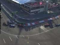 正赛再次重新起步 马萨赛车遇问题里卡多连超两车