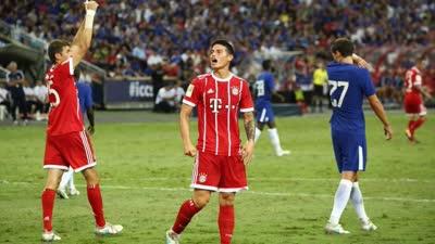 国际冠军杯-穆勒双响莫拉塔送助攻 拜仁3-2切尔西