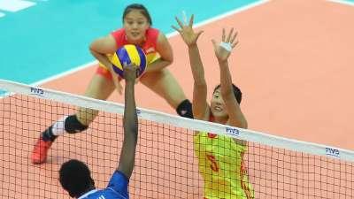 遗憾!中国队1-3不敌意大利 将与塞尔维亚争夺季军