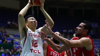 男篮亚洲杯-李根19分 中国逆转叙利亚进八强