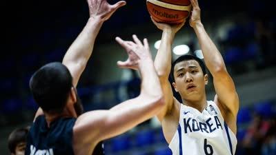 男篮亚洲杯-崔俊勇14分7板7助 韩国胜新西兰夺第三