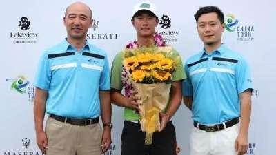 叶沃诚入选青少年总统杯 总统杯系列赛中国第一人
