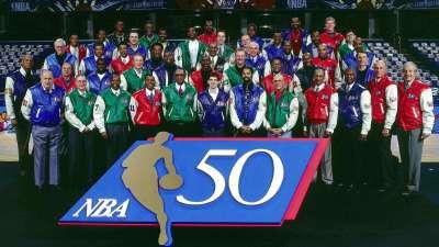 历史上的10月30日:乔丹天勾领衔 NBA50大巨星出炉