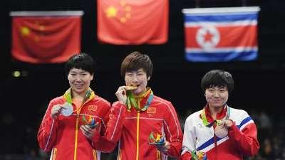 乒乓球女单决赛 丁宁4-3胜李晓霞成就大满贯伟业