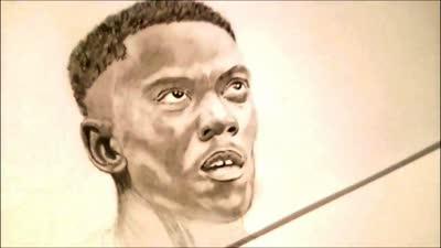 牛人铅笔手绘马夏尔