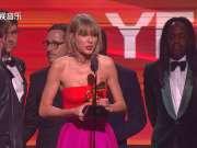 Taylor Swift获奖励志感言(2016年格莱美)