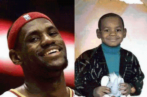 NBA励志故事: 小詹姆斯跟随妈妈流浪, 一人为黑帮