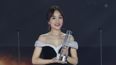 乐视最具生态成长力人物  李小璐获奖感言慈善事业意义重大