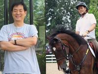 乐视体育专访濮存昕 63岁有好身体得益于骑马