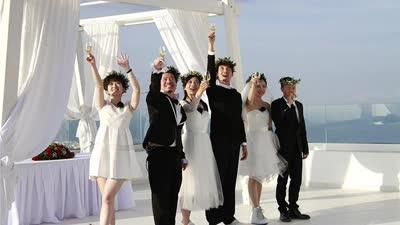 圣托里尼岛浪漫大求婚 寇乃馨爆料黄国伦求婚囧事