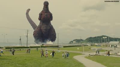 《新哥斯拉》日本再拍特摄片  第二支预告片大首播!