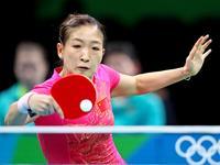 前方直击:刘诗雯里约初登场 享受奥运赛场氛围