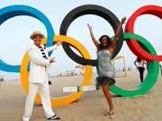 里约奥运官网火爆,科帕卡巴纳海滩人气高([VR Chosun] [남강호의 VR Rio!] 뜨거운 리우 올림픽 현장