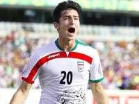 【伊朗1-0韩国】小将阿兹蒙捅射破门