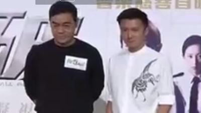 刘青云谢霆锋片场零交流