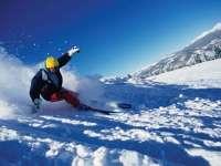 气质大叔教你双板滑雪 中级篇第六集选择滑行路线