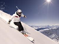 气质大叔教你双板滑雪 中级篇第三集如何控制速度