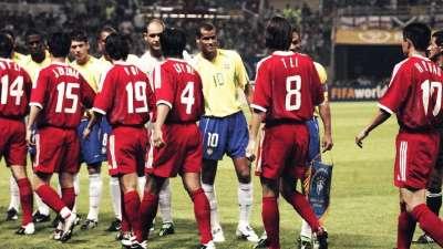 【策划】国足曾经的最高成就 面对巴西精彩配合险些破门
