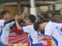 海地FC角球打出精彩配合 悍将推射破门先拔头筹